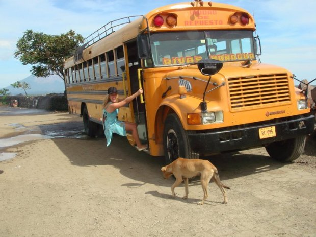 Bus to Costa Rica